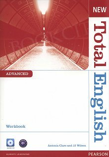 New Total English Advanced Workbook plus Audio CD (no key)