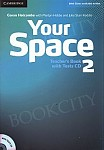 Your Space 2 Teacher's Book with Tests CD