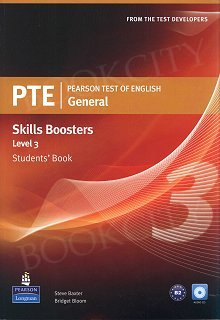 Pearson Test of English General Skills Booster 3 Student's Book plus Audio CD