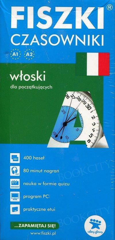 Fiszki Włoskie Czasowniki dla początkujących Fiszki + program + mp3 online