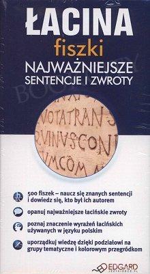 Łacina fiszki Najważniejsze sentencje i zwroty