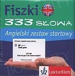 Angielski. Fiszki. 333 słowa.