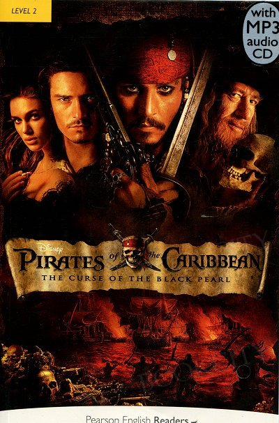 Pirates of the Caribbean: The Curse of the Black Pearl Book plus mp3