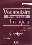 Vocabulaire Progressif du Français Avancé (2 edycja) Klucz