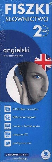 Fiszki Angielskie PREMIUM. Słownictwo 2 Fiszki + program + mp3 online