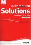 new matura Solutions Pre-Intermediate książka nauczyciela