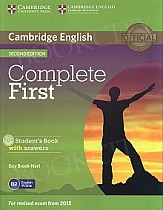 Complete First Certificate 2ed Student's Book with Answers +CD-ROM