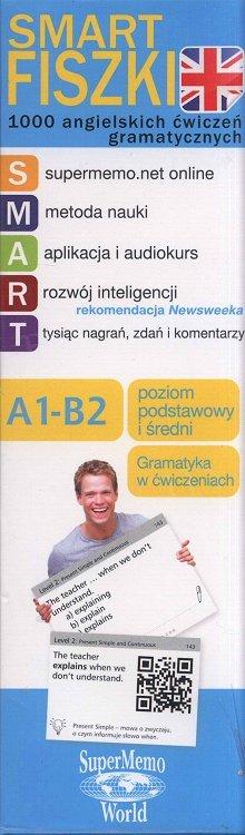 1000 angielskich słów - poziom podstawowy i średni A1-B2. Powtórka przed egzaminem CAE Fiszki + kod dostępu