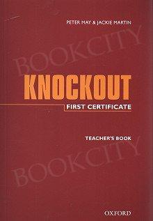First Certificate Knockout książka nauczyciela