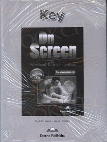 On Screen Pre-Intermediate B1 Workbook & Grammar Key (edycja polska)