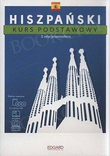 Hiszpański Kurs podstawowy (3 edycja) Książka + 3 płyty CD + program