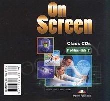On Screen Pre-Intermediate B1 Class Audio CDs (set of 3)