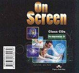 On Screen Pre-Intermediate B1 Class Audio CDs (set of 3)