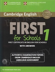Cambridge English First for Schools 1 FCE (2015) podręcznik