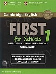 Cambridge English First for Schools 1 FCE (2015) Self Study Pack (Student's Book with answers + Audio)