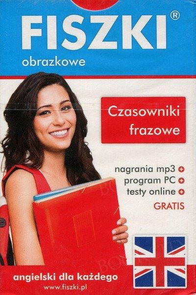 Fiszki obrazkowe angielskie Czasowniki frazowe Fiszki + program + mp3 online