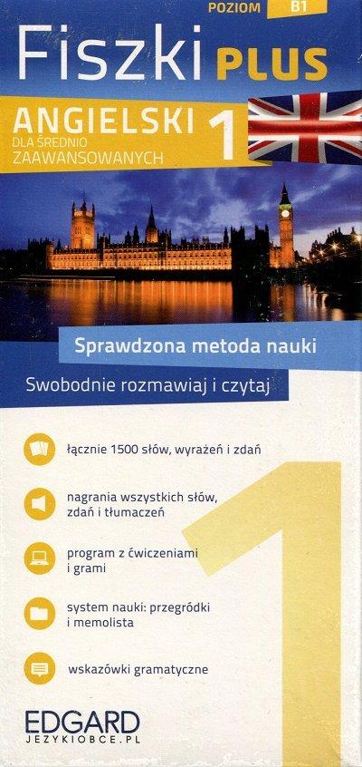 Angielski Fiszki PLUS dla średnio zaawansowanych 1 Fiszki + program + mp3 online