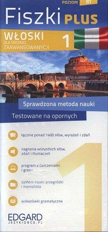 Włoski Fiszki PLUS dla średnio zaawansowanych 1 Fiszki + program + mp3 online