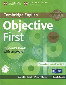 Objective First (4th Edition) Edition Student's Book Pack (Student's Book with Answers, CD-ROM & Class Audio CDs(2))