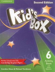 Kid's Box 6(second edition) ćwiczenia