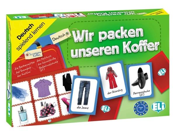 Wir packen unseren Koffer Gra językowa z polską instrukcją i suplementem