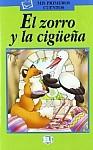 El zorro y la cigueña Libro + CD Audio