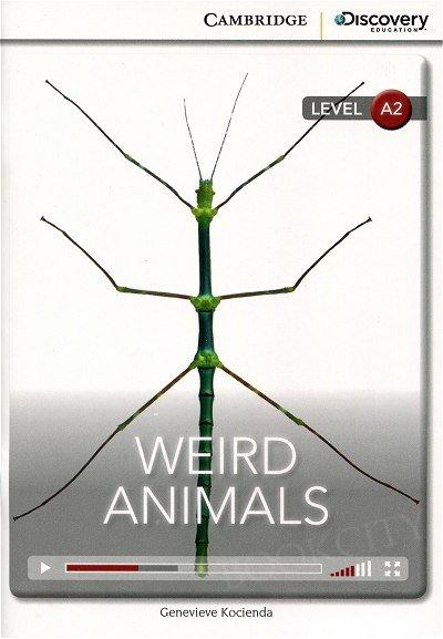 Weird Animals Book with Online Access