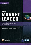 Market Leader 3rd Edition Advanced Coursebook plus DVD-ROM plus MyEnglishLab