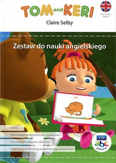 Tom and Keri. Zestaw do nauki angielskiego. książka + 4 DVD