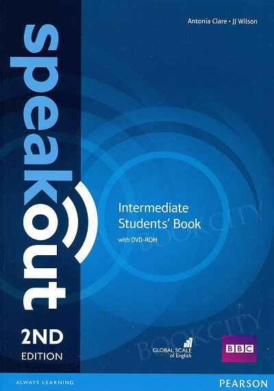 Speakout Intermediate (2nd edition) Student's Book with DVD-ROM (bez kodu)