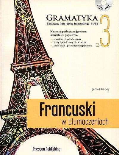 Francuski w tłumaczeniach. Gramatyka 3 Książka+CD mp3