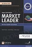 Market Leader 3rd Edition EXTRA Upper Intermediate Coursebook with DVD-ROM and MyEnglishLab Pin Pack