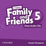 Family and Friends 5 (2nd edition) Class CD(2)