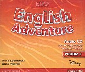 New English Adventure 3 (WIELOLETNI) Class CD
