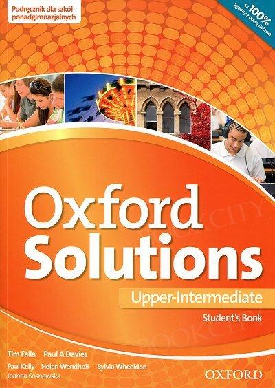 Oxford Solutions Upper-Intermediate podręcznik