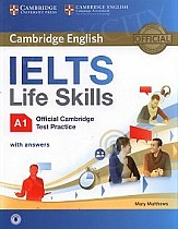 ELTS Life Skills Official Cambridge Test Practice. Poziom A1 Student's Book with Answers and Audio