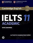Cambridge IELTS 11 Academic (2016) Student's Book with Answers with downloadable audio