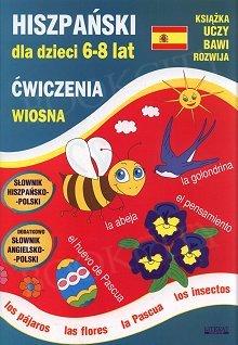 Hiszpański dla dzieci 6-8 lat Ćwiczenia Wiosna
