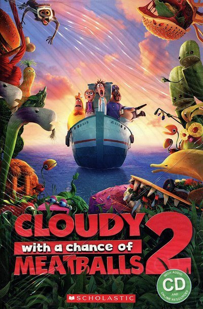 Cloudy with a Chance of Meatballs (Poziom 2) Reader + Audio CD