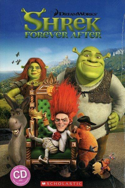 Shrek Forever After (poziom 3) Reader + Audio CD