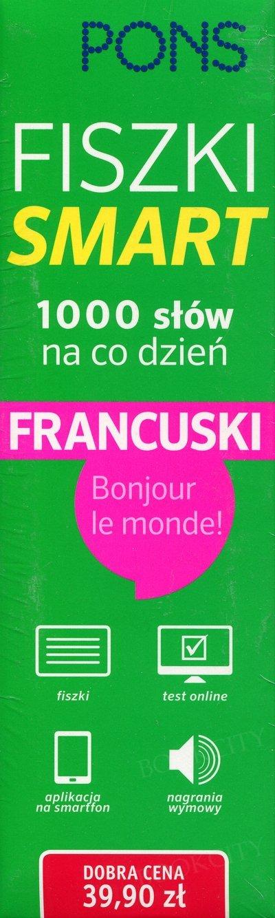 Fiszki SMART - 1000 słów na co dzień Francuski