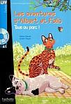 Albert et Folio: Tous au parc Książka + CD