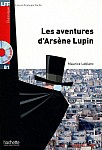 Les Aventures d'Arsen Lupin Książka + CD mp3