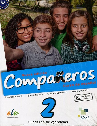 Companeros 2 Nueva Edición Ćwiczenia + licencia digital