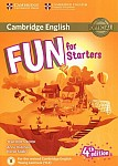 Fun for Starters (4th Edition) Teacher's Book + Downloadable Audio