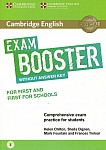 Cambridge English Exam Booster for First and First for Schools Book without Answer Key with Audio
