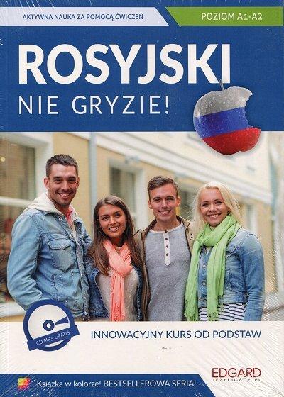Rosyjski nie gryzie Innowacyjny kurs od podstaw Książka + CD