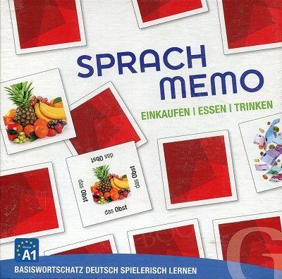 Sprachmemo Deutsch. Einkauf. Essen