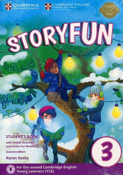 Storyfun 3 Movers Student's Book with Online Activities and Home Fun Booklet