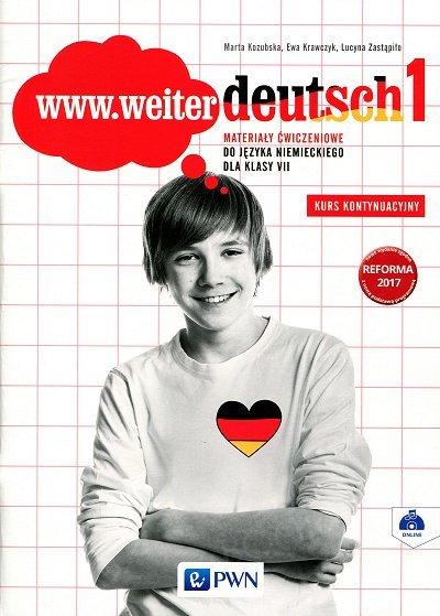 www.weiter deutsch 1 Materiały ćwiczeniowe. Kurs kontynuacyjny dla kl.7